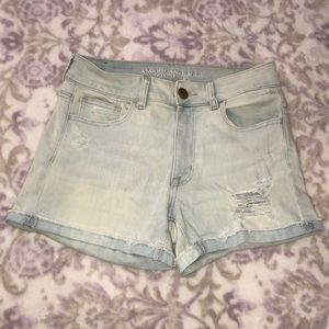 American Eagle High Waisted Stretch Shorts